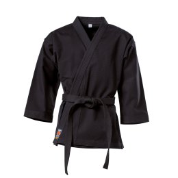 Karatejacke Traditional 12 oz schwarz